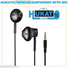 Original Hukato Premium Earphone Handsfree Headset Mic For Samsung Galaxy On Nxt