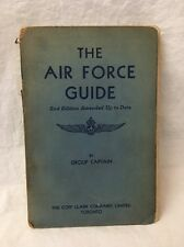 "RARE! 1940's ROYAL CANADIAN AIR FORCE (RCAF) ""The Air Force Guide"" Group Captain"