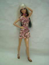 Barbie Doll Clothes Lot FASHION FEVER New Out of Package Pastel Dress Set 2004