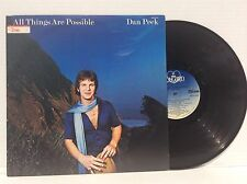 Dan Peek--All Things Are Possible 1978 Vinyl LP America MINT w/ INSERT