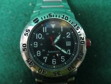 Red Line Watche Men's RPM Automatic Black Dial Stainless Steel  #1185/Off