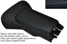 BLUE STITCH CENTRE CONSOLE COVER + ARMREST COVER FITS CORVETTE C5 1997-2004