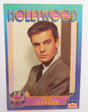 LOUIS JOURDAN (1921-2015) ~Hollywood Walk of Fame Card~AUTOGRAPHED