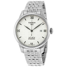 Tissot T-Classic Le Locle Silver Dial Stainless Steel Mens Watch T41183350