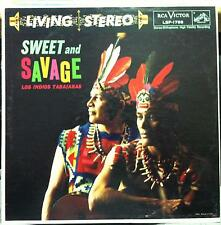 Living Stereo 1s/1s LOS INDIOS TABAJARAS sweet & savage LP Mint- LSP-1788 Record