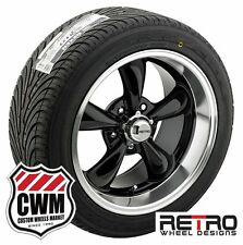 18x8/18x9 inch Staggered Black Wheels Rims BFG Tires for Chevy S10 2wd 82-05