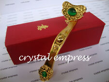 FENG SHUI - SMALL GOLDEN RUYI SCEPTER (POWER, AUTHORITY & PROMOTION LUCK)