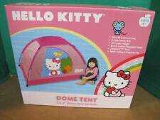 "HELLO KITTY 5 FT X 3 FT 2 POLE DOME TENT WITH ZIP ""T"" DOORS 3' CENTER HEIGHT"