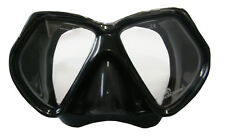 Land and Sea Resort Black Silicone Mask perfect for free divers BRAND NEW