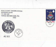 Ascension Island 1969 Devils Ashpit Tracking Station Unadressed FDC
