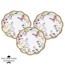 Fairy Princess Girls Birthday Party Paper Plates x12 Fairy Theme Party Supplies