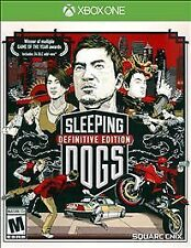 XBOX ONE SLEEPING DOGS Definitive Edition  NEW - FREE SHIPPING!