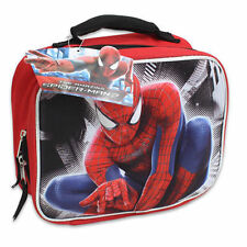 Lunch Bag Insulated Pop Out 3D Marvel Hero Spider-Man Red Black New