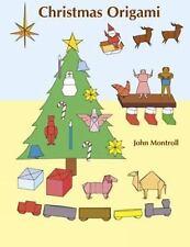 Christmas Origami Dover Origami Papercraft