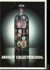 Cartolina Promocard Absolut Vodka Collection 2000 #132