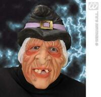 Witch Face Mask Witches Halloween Fancy Dress
