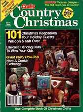 COUNTRY CHRISTMAS Mag PATTERNS 101 Keepsakes DOLLS Stocking PC VILLAGE Gifts