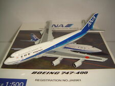 "Hogan 500 All Nippon Airways ANA B747-400D ""1990s color"" NG 1:500"