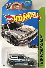 Hot Wheels ZAMAC HONDA CIVIC EF RARE WALMART EXCLUSIVE SOLD OUT!!XHTF!!