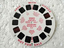 VINTAGE View master reel - picture tour vacationlands western USA from 1960's