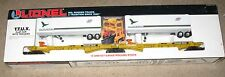 Lionel 6-16334 Chicago & Northwestern TTUX Flatcar Set
