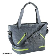 Nike FormFlux Tote Gym Bag  Gray Volt Womens Casual Training Outdoor Travel New