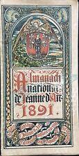 ALMANACH NATIONAL DE JEANNE D'ARC 1891