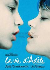 ADVERT MOVIE FILM BLUE WARMEST COLOUR  LA VIE D'ADELE ART PRINT POSTER GZ5651