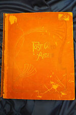 VINTAGE POST CARD ALBUM  ,113 POST CARD