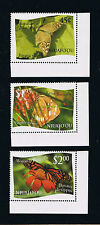 """Niuafo'ou 2012 Butterfly Definitives Single Stamps Set - Intact """"L"""" Variety"""