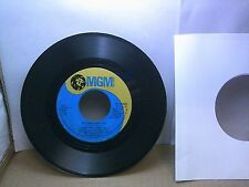 Old 45 RPM Record - MGM M 14755 - Hank Williams Jr. - Getting Over You / Angels