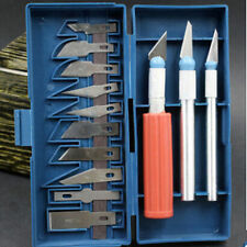 1 Set / 13Pcs Arts Style Hobby Engraved Paper Knife Exacto knife Multipurpose