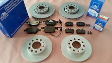 ORIGINAL ATE BRAKE SET BRAKE KIT SET FRONT AXLE + REAR AXLE AUDI A4 B6,B7