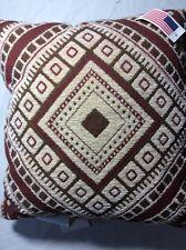 Kilim II Diamond Pillow Afghan Throw Pillow