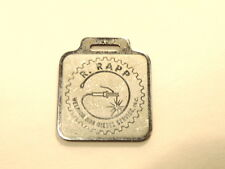steel colored key chain / watch fob ad for R. Rapp Welding & Diesel Service