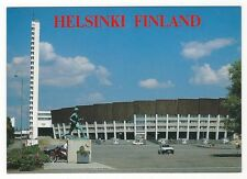 19/270 AK-FINLANDIA HELSINKI Olimpico Stadium e Paavo Nurmi STATUA -