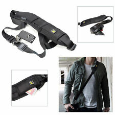 Black Single Shoulder Sling Belt Strap for Kodak Easyshare Z5010 Z5120  /SX