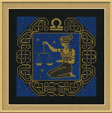 Zodiac Sign Libra Cross Stitch Kit - Riolis - (R1207) - 25cm x 25cm