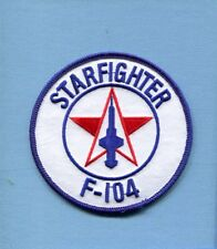 LOCKHEED F-104 STARFIGHTER FIS USAF FOREIGN Fighter Interceptor Squadron Patch
