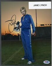 Jane Lynch Signed Autograph 8x10 Photograph PSA/DNA Certified Sue from Glee