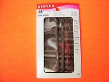 Singer 45 Pack Assorted Hand Sewing Needles - Great Mix of Needles to Have.