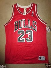 Michael Jordan #23 Chicago Bulls Champion NBA Jersey 44 LG NEW nwt AUTHENTIC