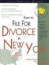 Legal Survival Guides: How to File for Divorce in New York by Edward A. Haman...