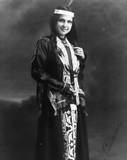 New 8x10 Native American Photo: Moon Beam, North American Indian Woman - 1909