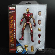 MARVEL SELECT AVENGERS AGE OF ULTRON IRON MAN XLIII ARMOR Mark 43 action Figure