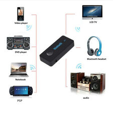 Bluetooth V4.1 Receiver  Wireless 3.5mm AUX Audio Stereo Music Home Car Adapter
