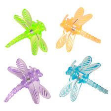 10pcs Wholesale Lots Assorted Colorful Dragonfly Hair Clips Claws Clamp Grasp D