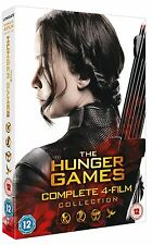 THE HUNGER GAMES COMPLETE 1-4 COLLECTION DVD New *FAST & FREE* 4-Film Collection