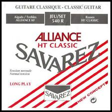 Savarez 540 R Alliance HT Classic Classical Guitar Strings Normal Tension