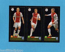 FIFA 365/2016-PANINI ITA-Figurina n.660/661/662- KLAASSEN+MILIK+FISCHER-AJAX-NEW